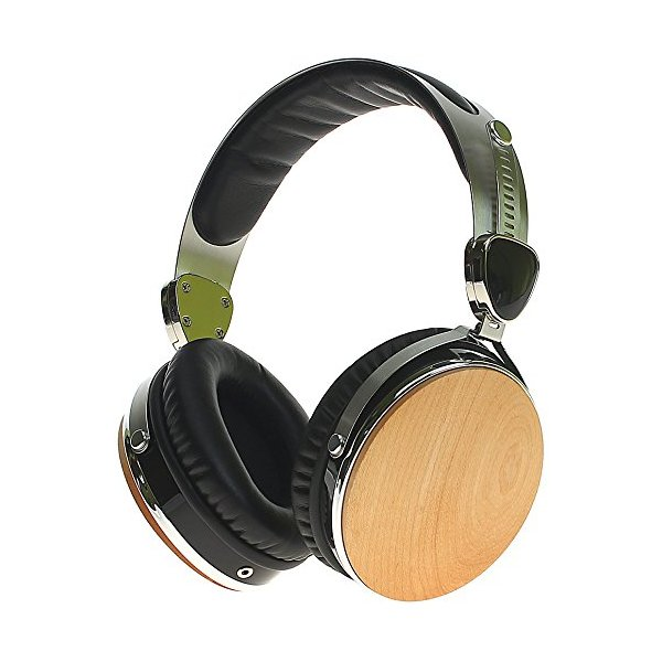 Symphonized Wraith 2.0 Premium Genuine Wood Headphones with Mic (Maple)