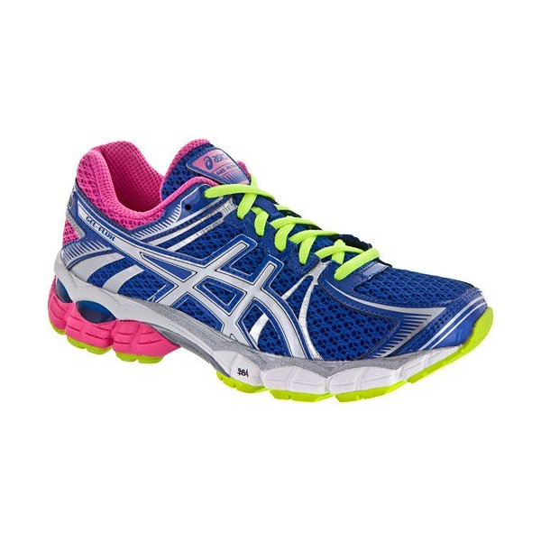 ASICS Women's GEL-Flux Running Shoe,Blue/White/Hot Pink,10 M US