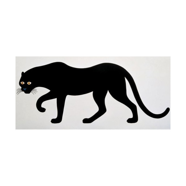 Enzo Mari: Quattro, La Pantera - The Panther Poster