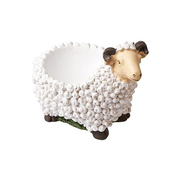Novelty Animal Farmyard Egg Cups (Sheep)