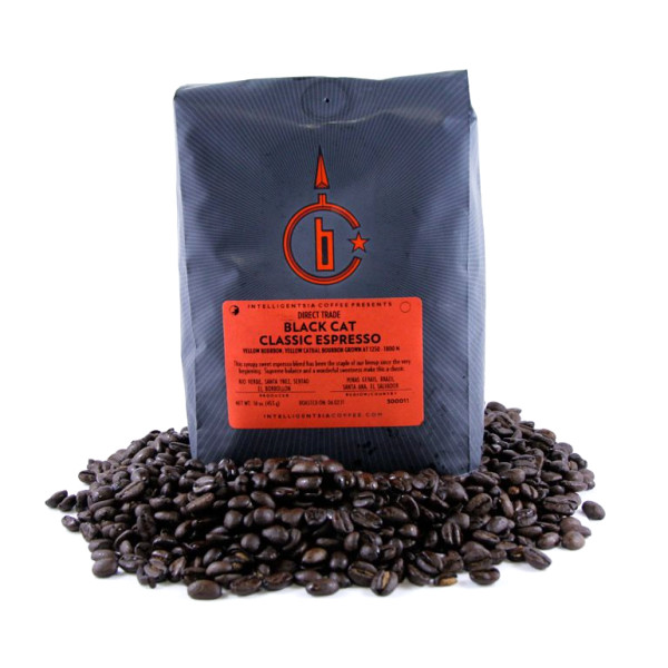 Intelligentsia Black Cat Classic Espresso, Whole Bean Coffee