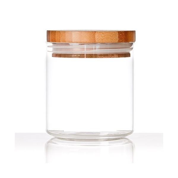 Glassery Airtight Glass Jar, 4-cup, $9.99
