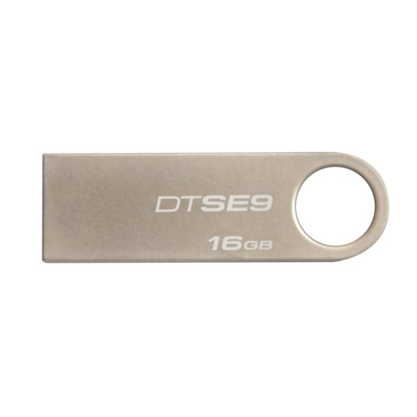 Kingston Digital DataTraveler SE9 16GB USB 2.0 (DTSE9H/16GBZET)