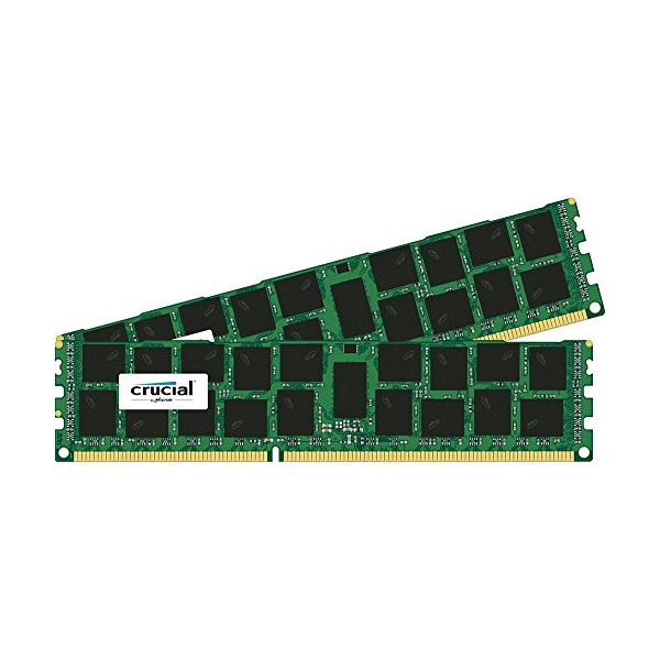 Crucial 32GB Kit (2x16GB) DDR3-1866 RDIMM 1.5V Memory For Mac Pro Systems (Late 2013) CT2K16G3R186DM