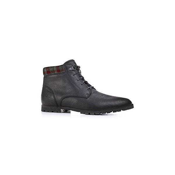 Woolrich Men's Beebe Boot, BLACK PLAID (Black), Size 9H