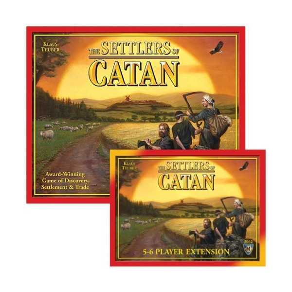 Settlers Of Catan 4th Edition Bundle