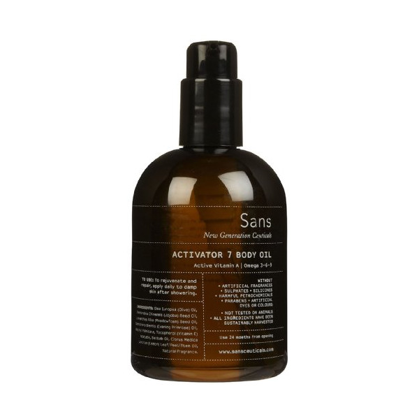 Sans Activator 7 Body Oil-8 oz.