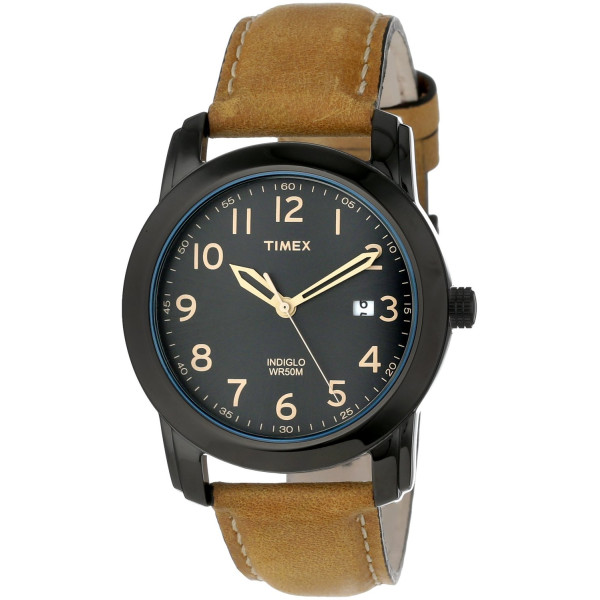 Timex Elevated Classics Watch with Leather Strap