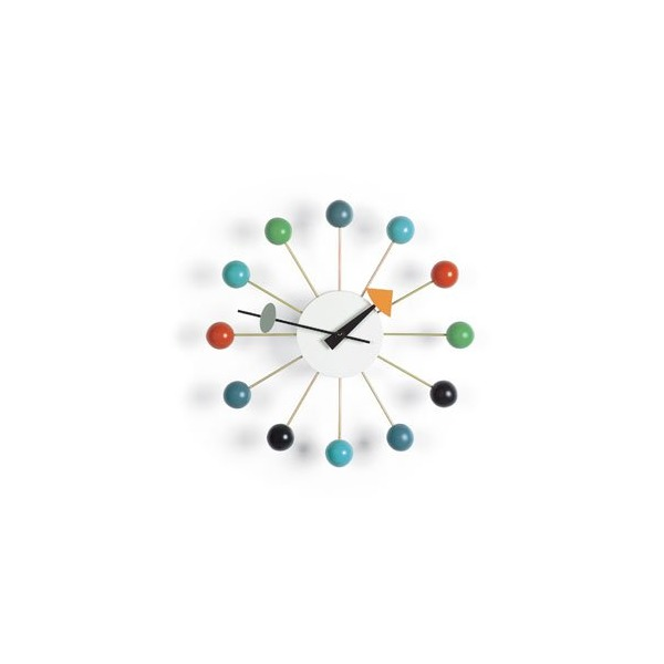 George Nelson Ball Clock - Multi-coloured