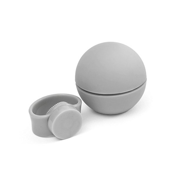 Nello Magnetic Bike Bell, Light Grey