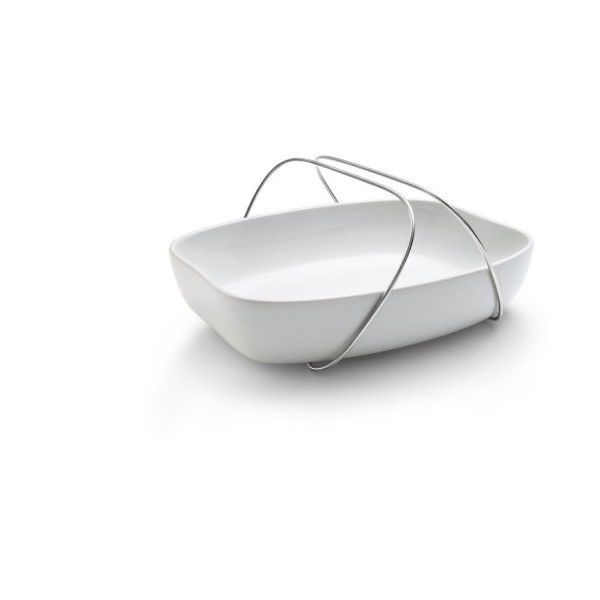 Eva Solo Dish with Handle, Medium, White