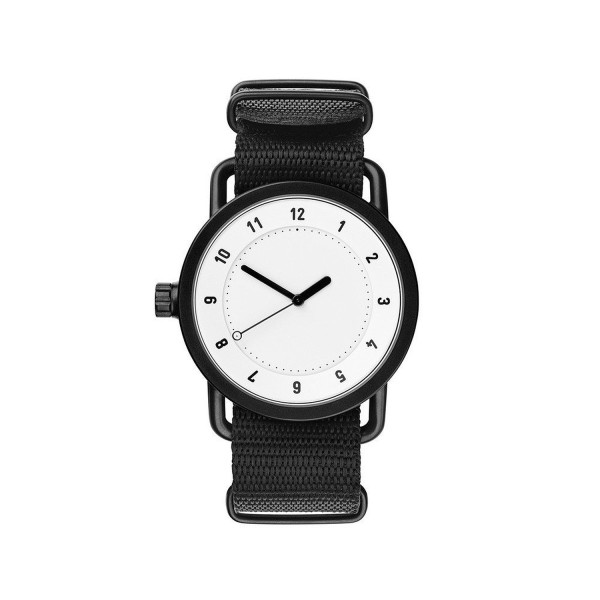 TID no. 1 Watch - White Watch Face | Nylon Band