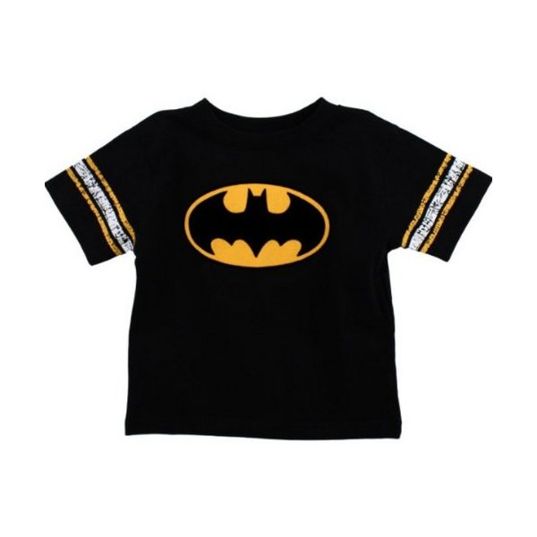DC Comics Batman Logo T-Shirt Boys Toddler Size: 4T