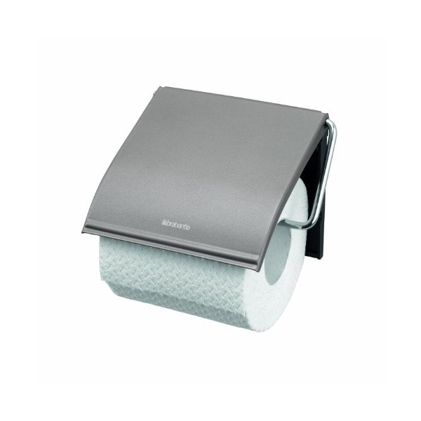 Brabantia Toilet Roll Holder Classic - Platinum
