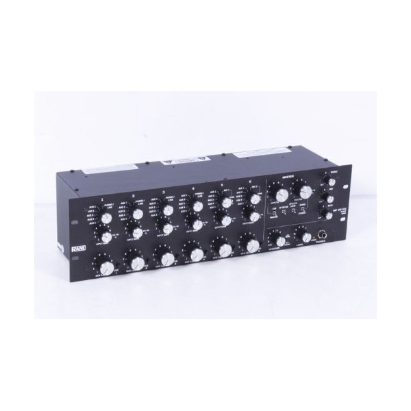 Rane MP 2016a 6-Channel Rotary Mixer