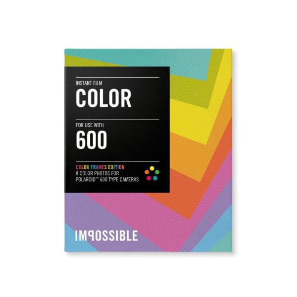 Impossible Color Instant Film (Color Frames Edition) for Polaroid 600-Type Cameras