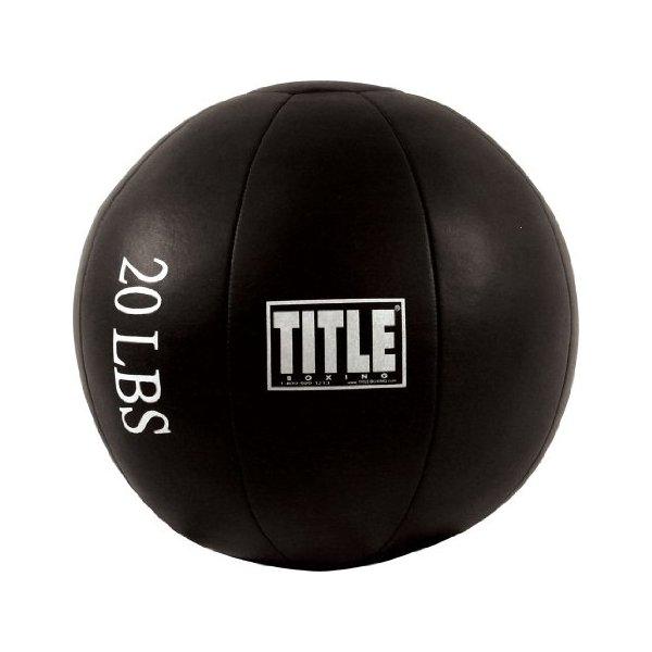 TITLE MEDICINE BALL