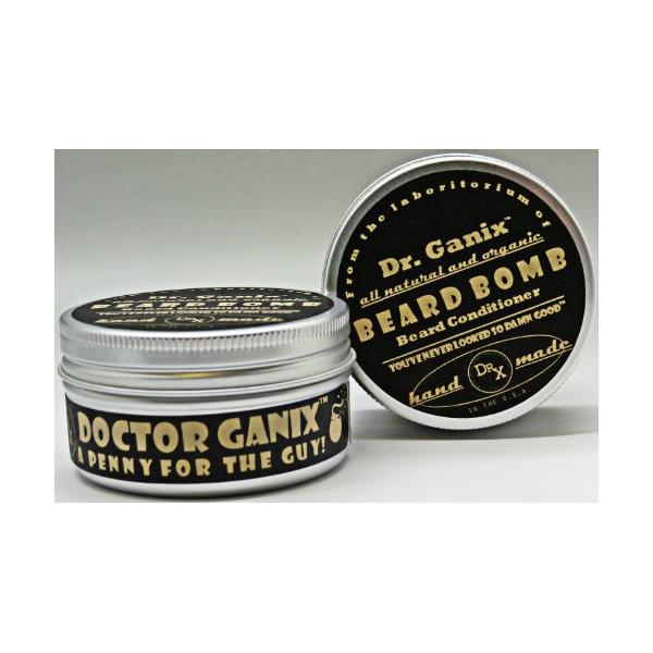 Doctor Ganix Beard Bomb - All Natural Beard Conditioner