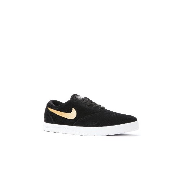 Nike Eric Koston 2 Skate Shoe - Men's Black/Metalic Gold, 9.5