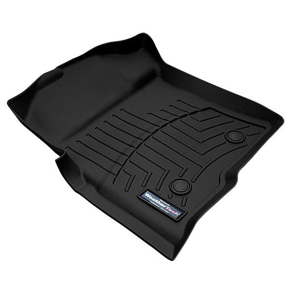 WeatherTech Custom Fit Front FloorLiner for Toyota Tacoma (Black)