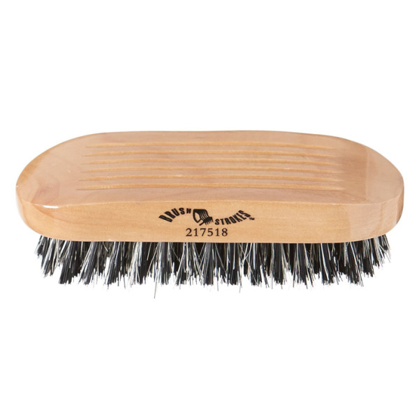 Brush Strokes Firm Military Style Boar Bristle Brush