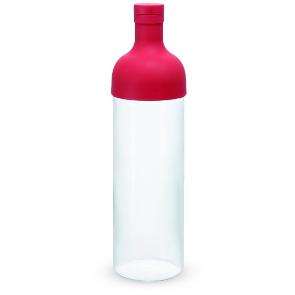 Hario Filter-In Bottle Wine Style Teapot, 750ml, Red