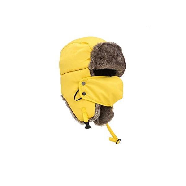 Kobwa(TM) Unisex Winter Outdoors Skiing Bomber Earflap Hats with Keyring