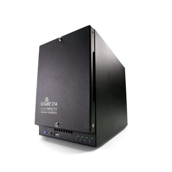 ioSafe 214 Fire and Waterproof NAS/RAID Storage Solution