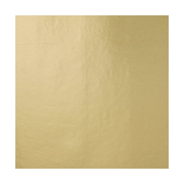 Jillson Roberts Recycled Gift Wrap, Gold Matte, 6-Roll Count (R915)