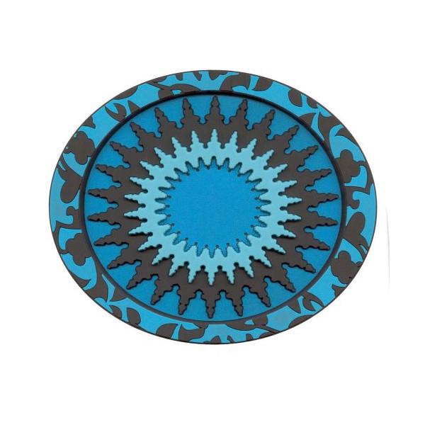 Images d'Orient Soap Dish, Hammam Mosaic Blue