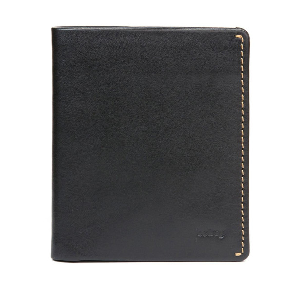 Bellroy Men's Leather Note Sleeve Wallet, Black