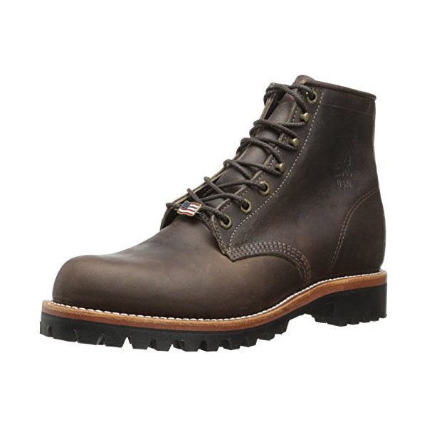 Chippewa Men's 6 Inch Sorrel Crazy Horse Rugged Boot,Brown,7 D US