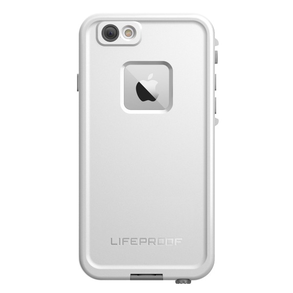 "Lifeproof FRE iPhone 6/6s Waterproof Case (4.7"" Version) - Retail Packaging - AVALANCHE (BRIGHT WHITE/COOL GRAY)"