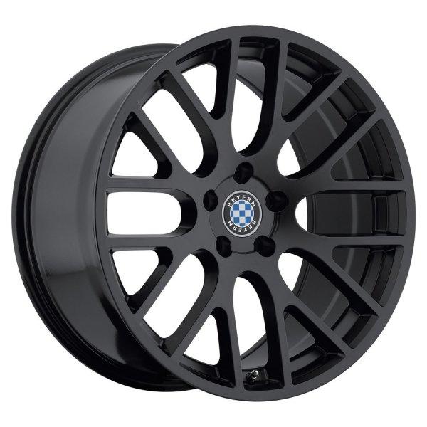 "Beyern Spartan Wheel with Matte Black Finish (18""x8.5""/5x120mm)"