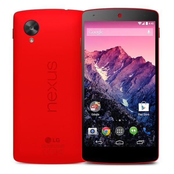 Nexus 5 (16GB, Bright Red) Unlocked GSM Phone