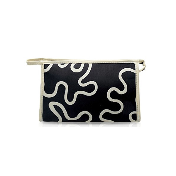 Xaestival Ripple Pattern Cosmetic Bag