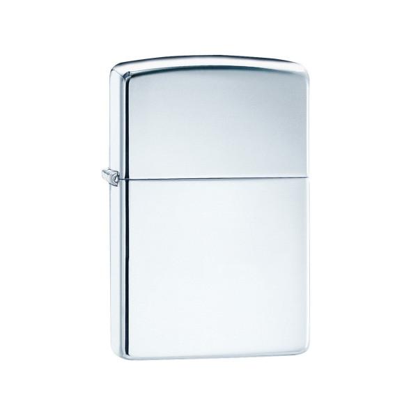 Zippo High Polish Chrome Pocket Lighter