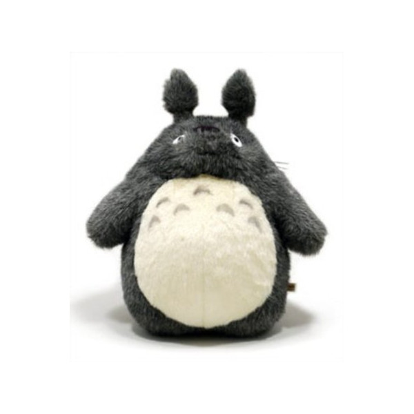 "Studio Ghibli My neighbor Totoro 16"" tall dark grey Totoro plush doll"