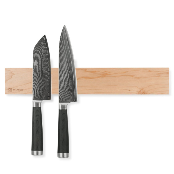 "Zelancio 16"" Magnetic Knife Strip, Maple"