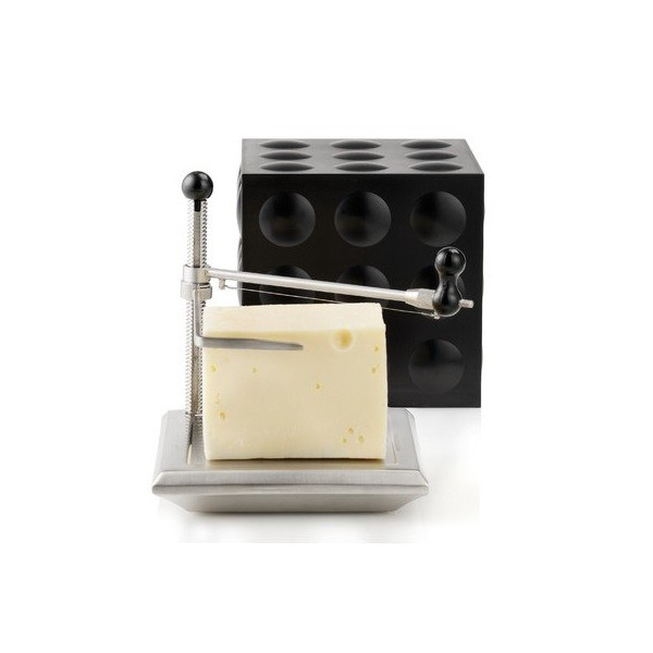 Cheese Slicer/Cube in Black