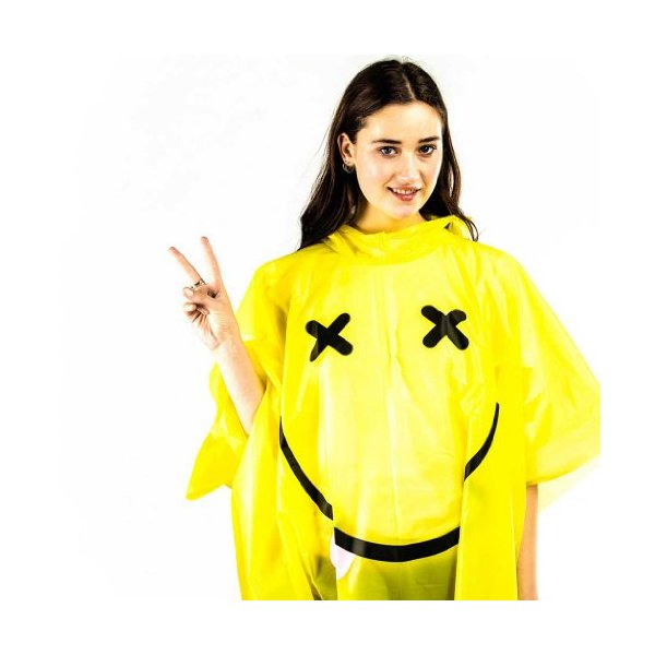 Waterproof Rain Rave Poncho
