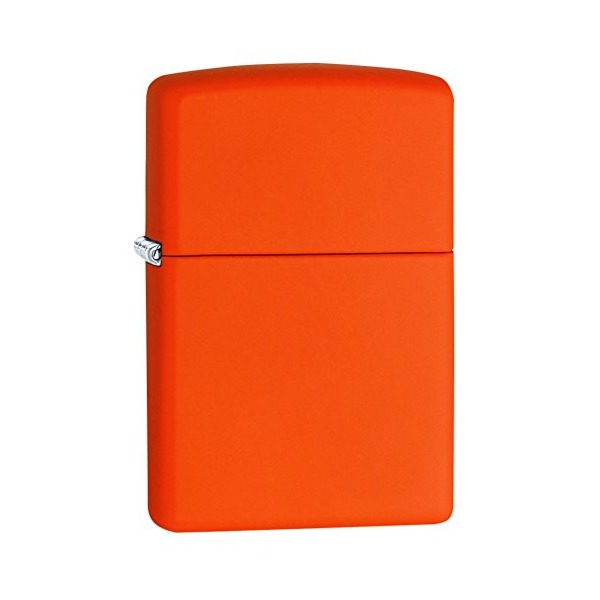Zippo Orange Matte Lighter - 231