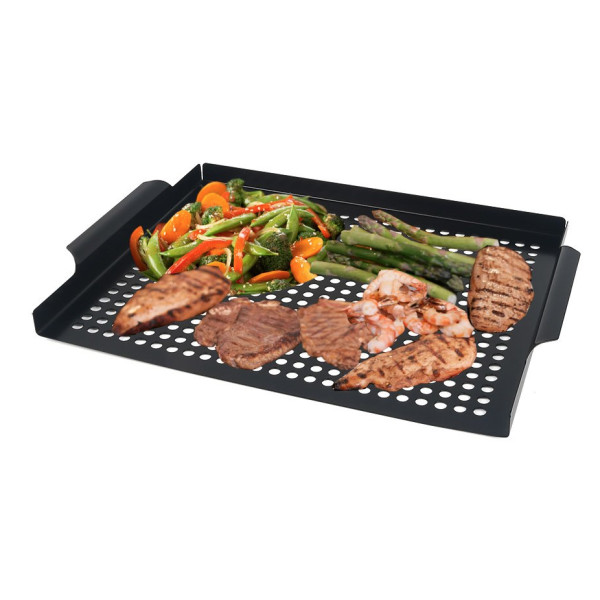 Arctic Monsoon  Stainless Steel Non-stick Grill Tropper Pan