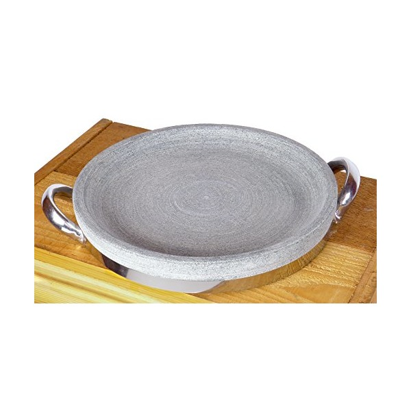 Spiceberry Home Granite Stone Steak Grilling Pan - 11-Inch