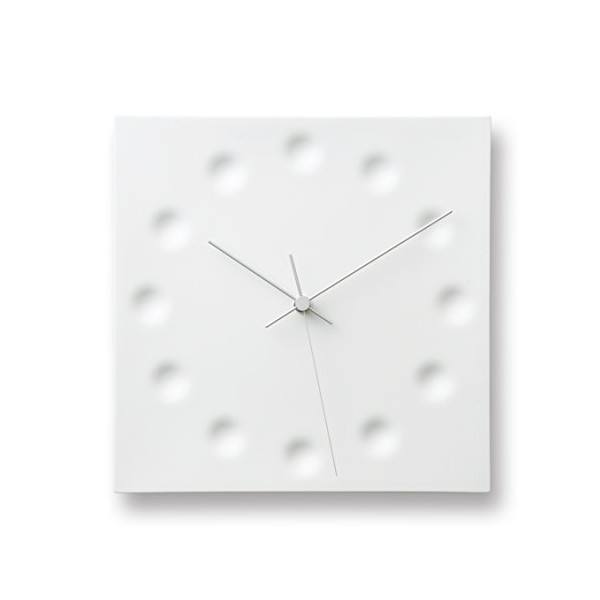 Lemnos Wall Clock Drops Draw The Existance