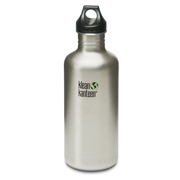 Klean Kanteen Stainless Steel Bottle with Loop Cap 27oz