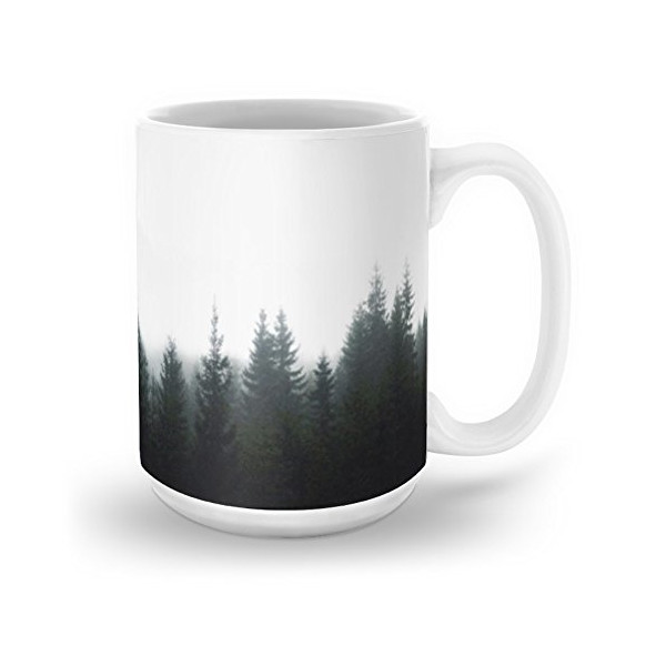 Society6 Forest Mug 15 oz