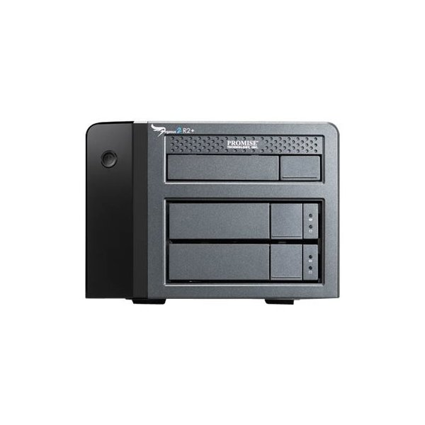 Promise P2R2HD6CFUS Pegasus2 R2+ 6TB(2x3TB SATA) RAID System with Thunderbolt 2