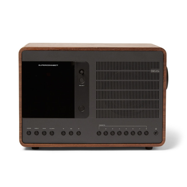 Revo SuperConnect Multi Format Deluxe Radio, Walnut