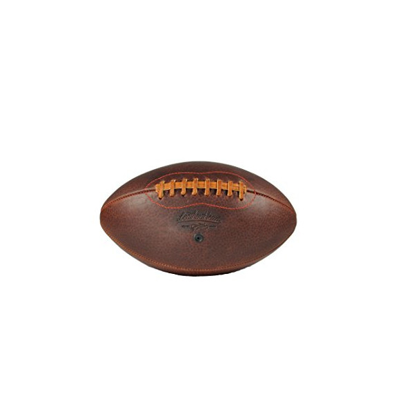Handsome Dan Leather Head Football F1-Hd-Red